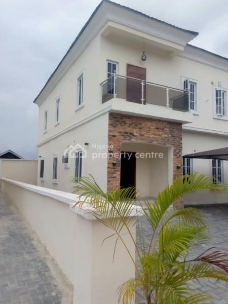 Luxury 4 Bedroom Detached Duplex in a Mini Estate, Ajiwe, Ajah, Lagos, Detached Duplex for Rent