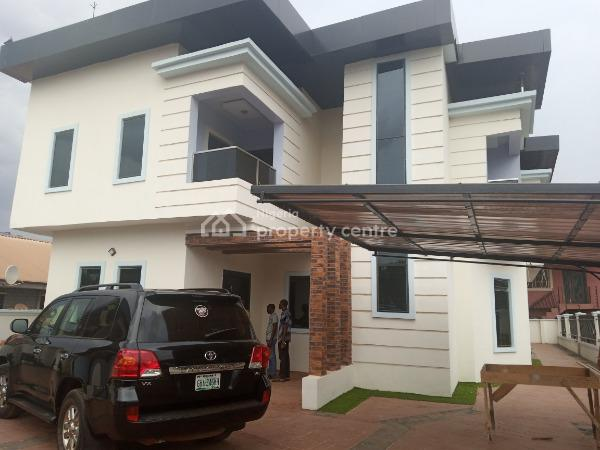 5bedroom Luxury Home Duplex, Behind Golden Tulup Hotel By Nta Road Asaba, Oshimili South, Delta, Detached Duplex for Sale