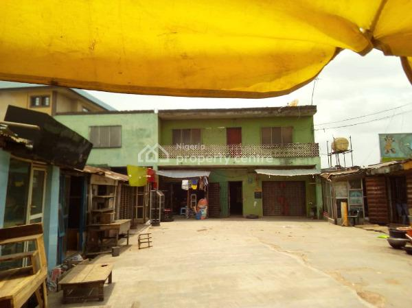 a Tenement Storey Building with Bq Sitting on a Plot of Land, Egbeda, Alimosho, Lagos, House for Sale