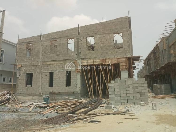 Get Your Keys and Move Into an Executive Affordable Luxury Now, 2nd Toll Gate, Between Chevron and Vgc, Ikota, Creek Avenue, Lekki Phase 2, Lekki, Lagos, Terraced Duplex for Sale