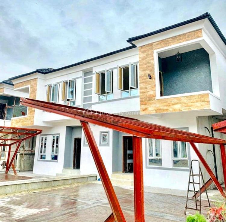 Luxury 4 Bedroom Semi-detached Duplex with 24 Hours Power, Chevron, Lekki, Lagos, Semi-detached Duplex for Rent