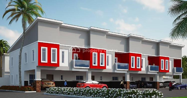4 Bedroom Terrace Duplex, After The 2nd Toll Gate at Chevron., Ikota, Lekki, Lagos, Terraced Duplex for Sale