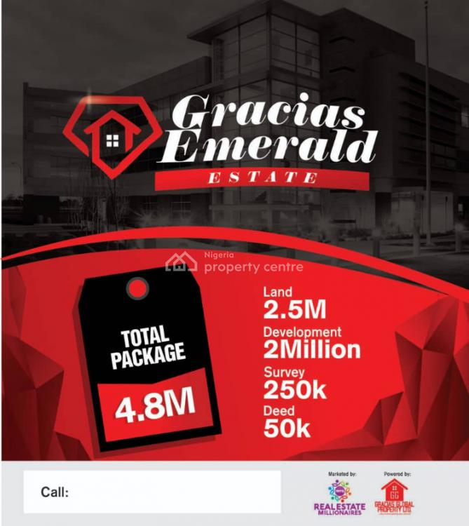 Gracias Emerald Estate, Sangotedo, Ajah, Lagos, Residential Land for Sale