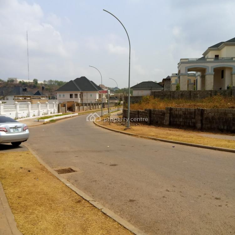 1100sqm Low Density Plot for Private Home, Asokoro Extension/guzape, Guzape District, Abuja, Residential Land for Sale