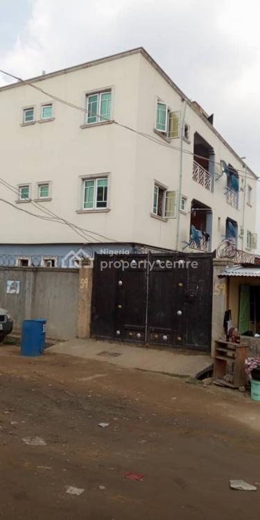 6 No 2bedroom Flat Ensuite, Wosilatul Street Off Ogunmuyiwa Ijesha, Ijesha, Surulere, Lagos, House for Sale