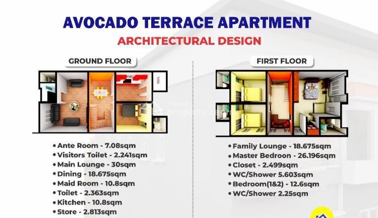Luxury 3bedroom Avocado Terrace Duplex + Bq, Queens Garden Estate, Isheri North Gra., Opic, Isheri North, Lagos, Terraced Duplex for Sale