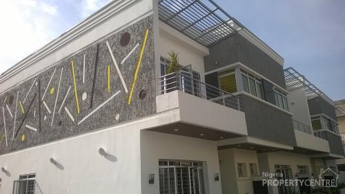 For sale architectural design serviced 4 bedroom duplex for Nigerian architectural designs duplex