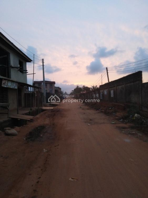 Half Plot of Land with Completed 2&1 Bedroom Flat, Along Habeeb Akinlade Street, Rehabilitation Center Junction, Agric Ik, Agric, Ikorodu, Lagos, Mixed-use Land for Sale