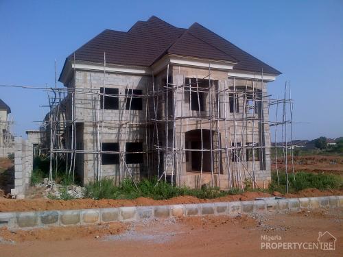 Carcass 4 bedroom duplex karsana abuja projects - 4 bedroom duplex for rent near me ...