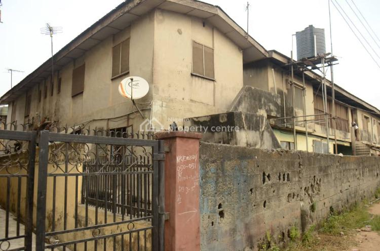a Block of Flats with Shop on a Full Plot of Land, Off Oriola Street, Alapere, Ketu, Lagos, Block of Flats for Sale