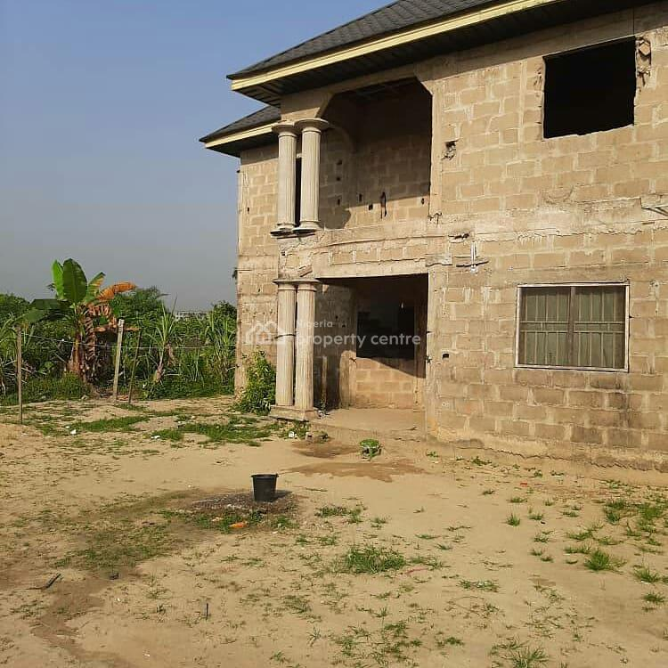Uncompleted  4 Bedroom Duplex, Off Airforce Road Okaka Yenagoa, Yenagoa, Bayelsa, Detached Duplex for Sale