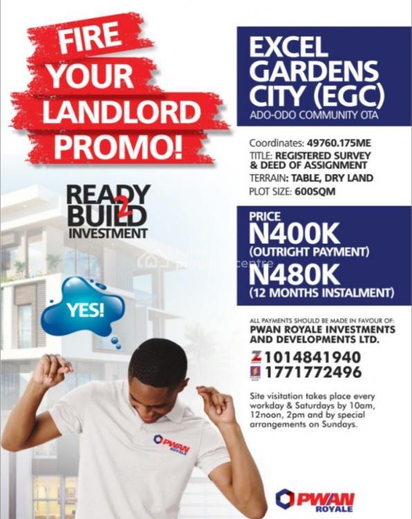 Land In Ado Odo Ota Ogun 132 Available