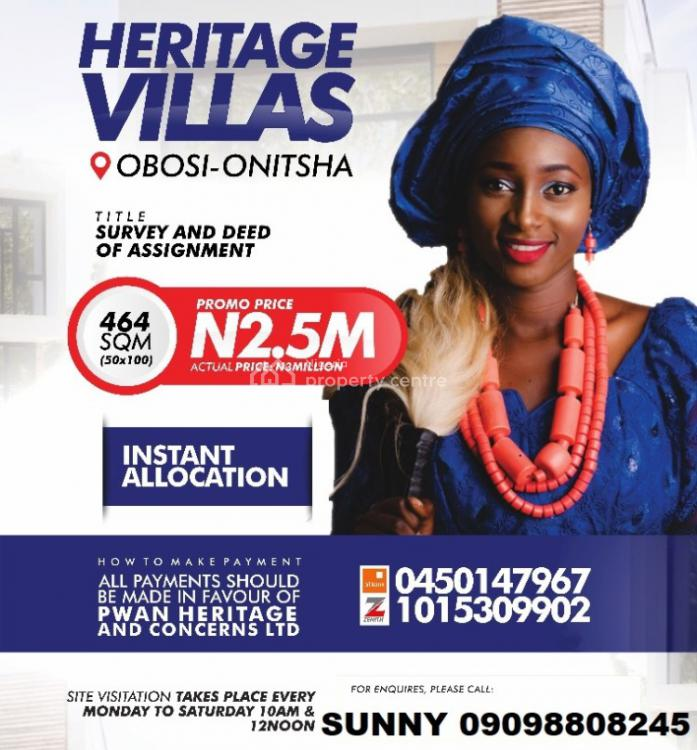 Affordable Land, Onitsha-owerri Rd, Onitsha, Anambra, Mixed-use Land for Sale