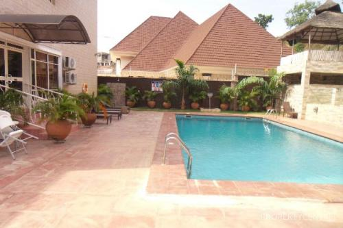 For rent luxury and well furnished 2 bedrooms flat with swimming pool and gym asokoro district for House with swimming pool for rent