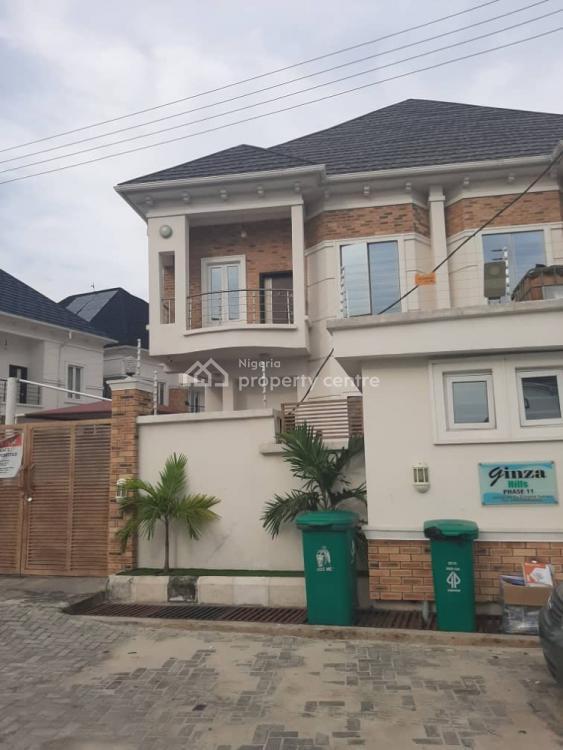 Spacious 4 Bedroom Duplex with Bq, Chevron, Lekki, Lagos, Semi-detached Duplex for Rent
