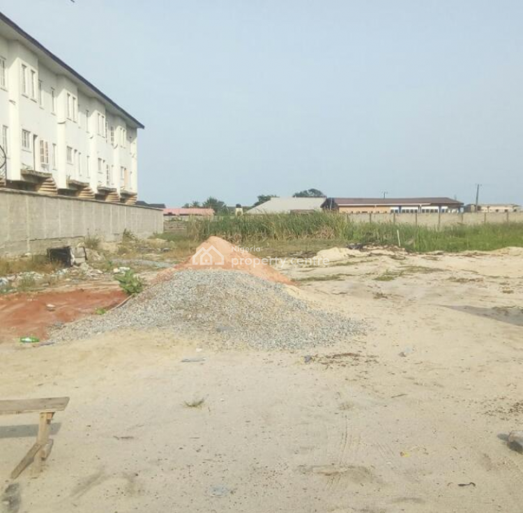 Water Front Secure and Solid Land for Development, New Road, Off World Oil Filling Station., Ilasan, Lekki, Lagos, Mixed-use Land for Sale