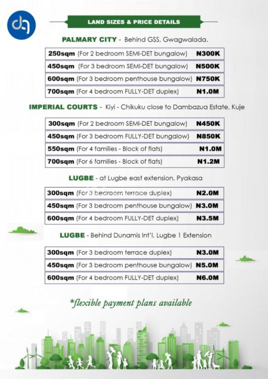 Affordable Lands, Palmary City, Behind Gss, Gwagwalada, Abuja, Residential Land for Sale
