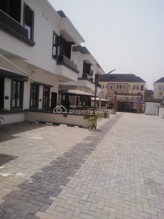 4 Bed Rooms Semi Detached Duplex with a Room Bq, Gra, Ikota, Lekki, Lagos, Terraced Duplex for Sale
