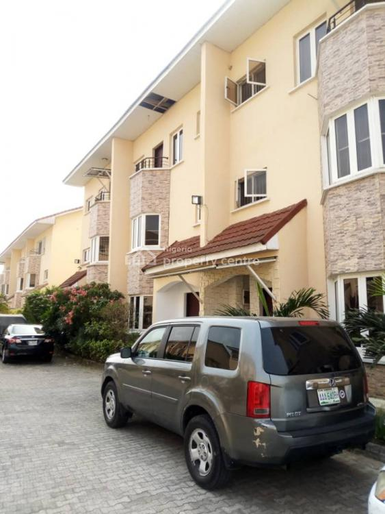 Lovely 4 Bedrooms Terrace with a Bq, Ajiwe, Ajah, Lagos, Terraced Duplex for Sale