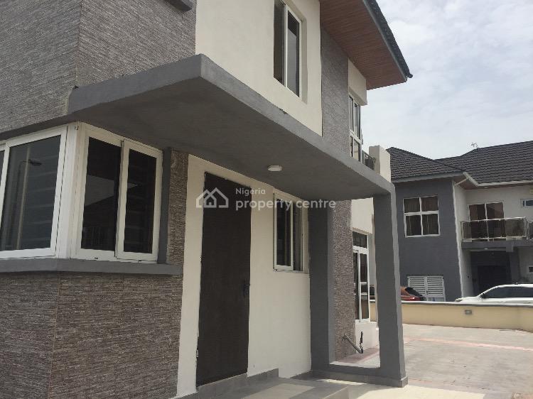 4 Bedroom Semi Detached Duplex with Bq, Pinnock Beach Estate, Osapa, Lekki, Lagos, Semi-detached Duplex for Rent