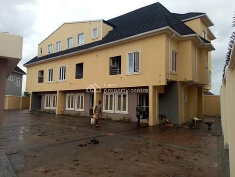 Newly Built 4 Bedroom Terrace Duplex with Bq and 2 Exclusive Parking, Off Cmd Road, Magodo, Lagos, Terraced Duplex for Sale