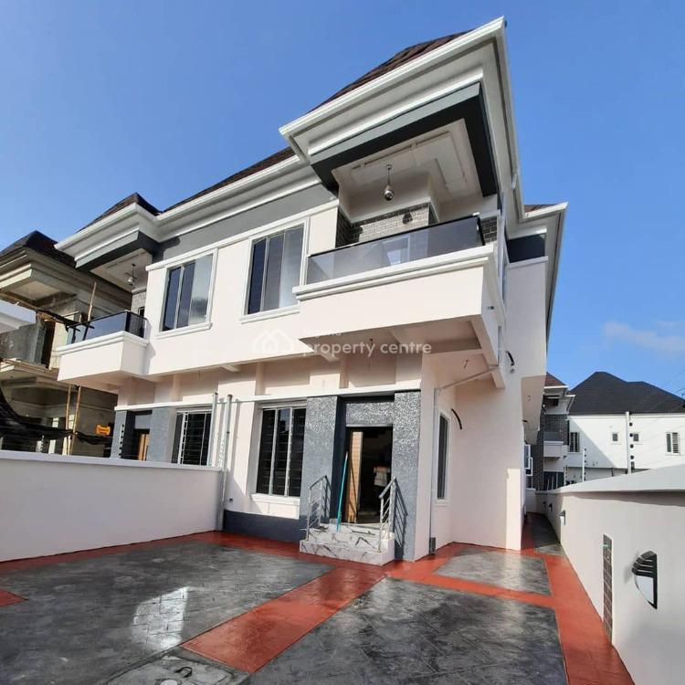 4 Bedrooms Semi-detached Duplex House with Bq in Serene Gardens, Chevron, Lekki Expressway, Lekki, Lagos, Semi-detached Duplex for Sale