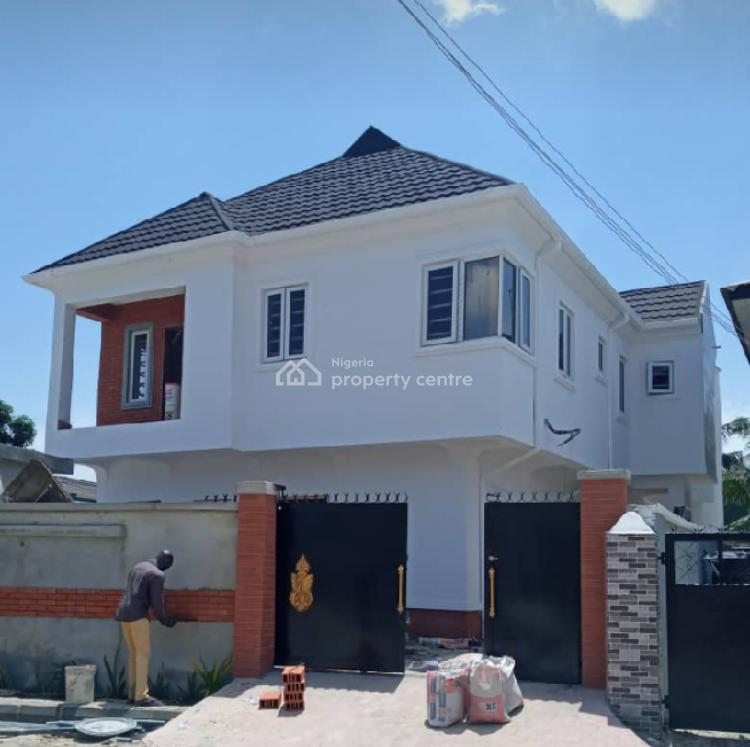 Brand New 3 Bedroom Duplex with Bq + 4units Room Self Contained, Off Cooperative Villa Road, Badore, Ajah, Lagos, Detached Duplex for Sale