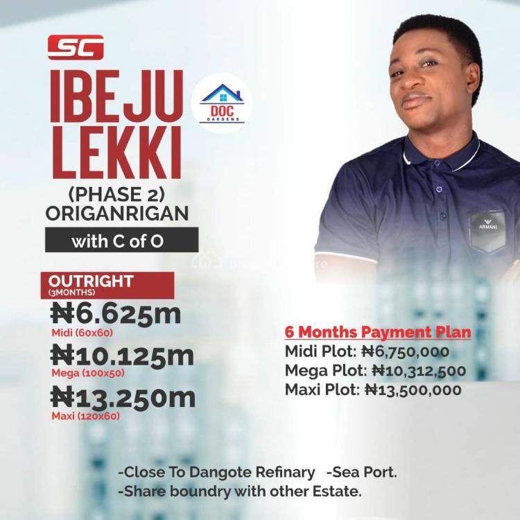 Plots of Land (midi, Maxi, Mega), Ibeju Lekki, Lagos, Residential Land for Sale