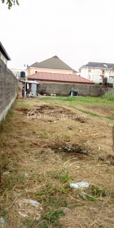a Fenced Plot of Land, United Estate Back of Shoprite Novare Mall, Sangotedo, Ajah, Lagos, Land for Sale