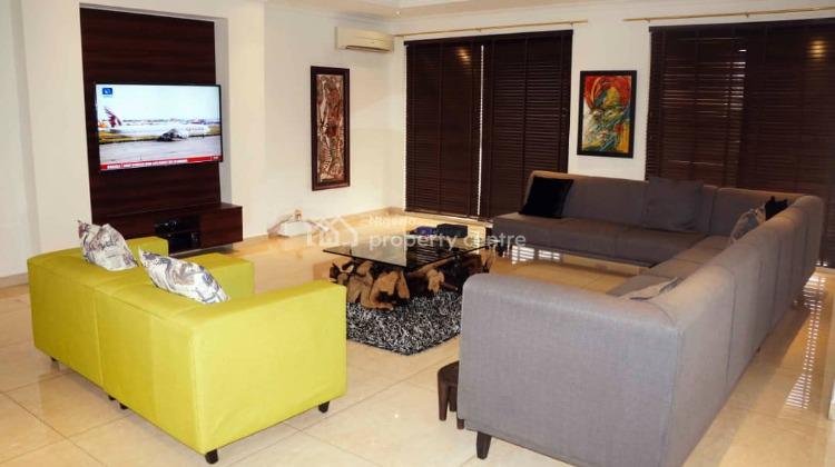4 Bedroom Masionate Penthouse with Bq, Banana Island Road, Banana Island, Ikoyi, Lagos, Flat for Rent