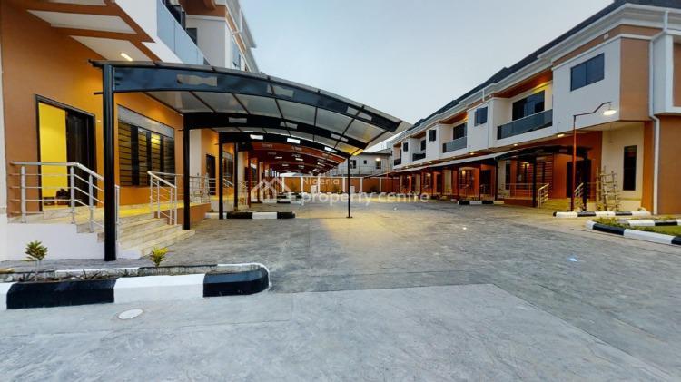 Serviced 4 Bedroom Terrace with Bq, Ikate Elegushi, Lekki, Lagos, Terraced Duplex for Sale