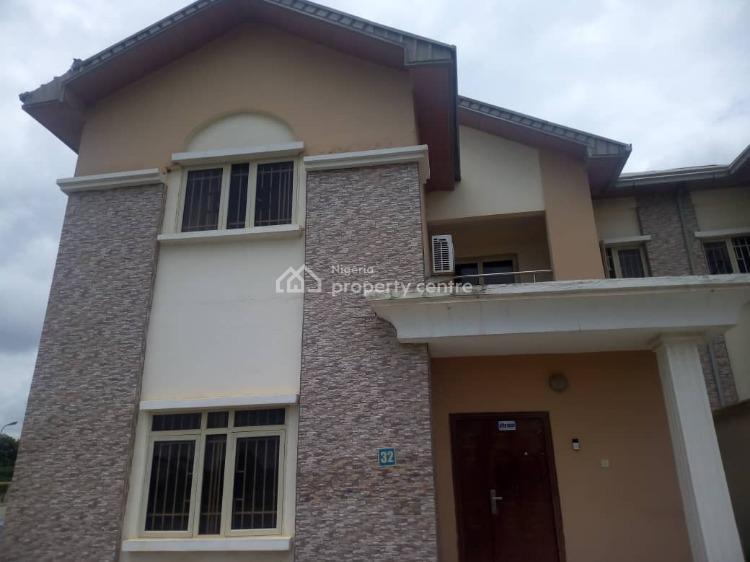 4 Bedroom Semi Detached House with 1 Room Domestic Staff Quarters, Cliffland Estate, Apo, Dutse, Abuja, Semi-detached Duplex for Sale