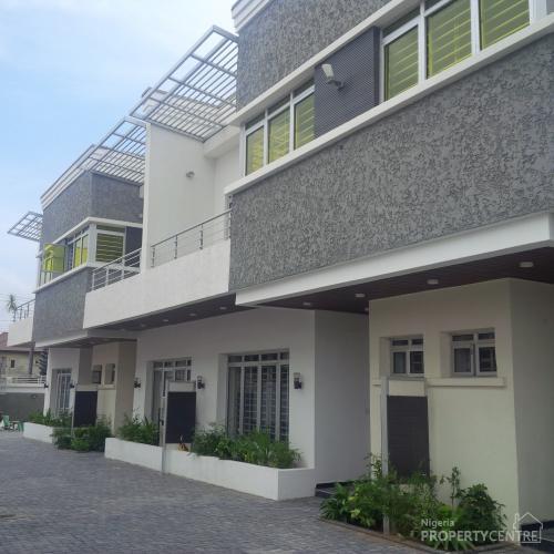 4 Bedrooom Luxuriously Built Terrace , Lekki, Lagos, 4 Bedroom House For Sale