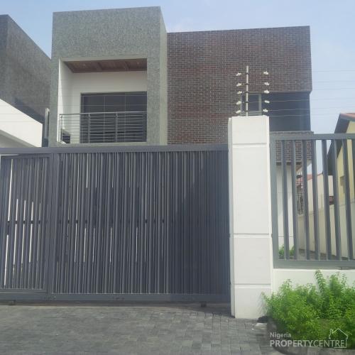Luxury Built 5 Bedroom Fully Detached Duplex , Lekki, Lagos, 5 Bedroom House For Sale