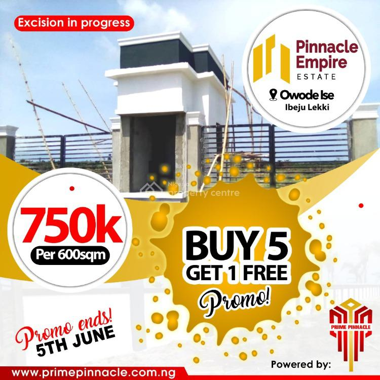 100% Dry Land, Gated and Secure, Ibeju Lekki, Lagos, Mixed-use Land for Sale