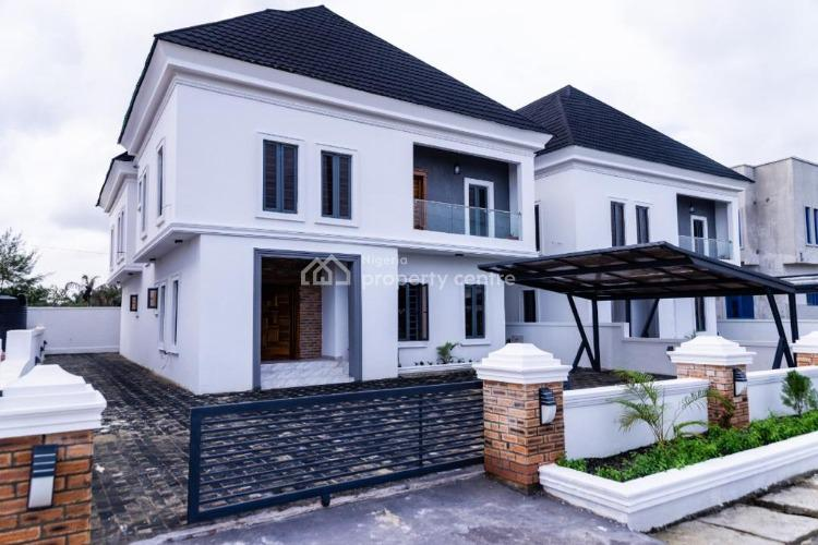 Brand New and Well Built 5 Bedroom Fully Detached House with 1rm Bq, Lekki County Estate., Ikota, Lekki, Lagos, Detached Duplex for Sale