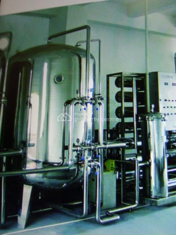 a Purpose Built Water Factory with Machinery, Off Idi Iroko Road , Oju Oore, Sango Ota, Ogun, Factory for Sale