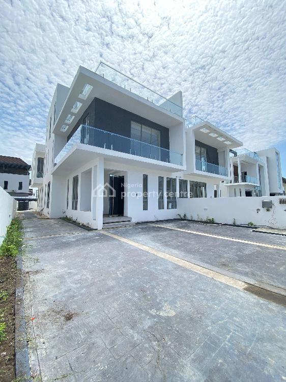 5 Bedroom Semi Detached Duplex with Bq, Pinnok Beach Estate, Osapa, Lekki, Lagos, Semi-detached Duplex for Sale
