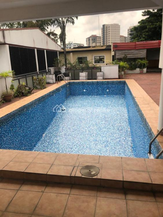 a Fully Detached Five 5 Bedroom Detached House with Bq and Pool, Off Ajayi Bembe, Parkview, Ikoyi, Lagos, Detached Duplex for Rent