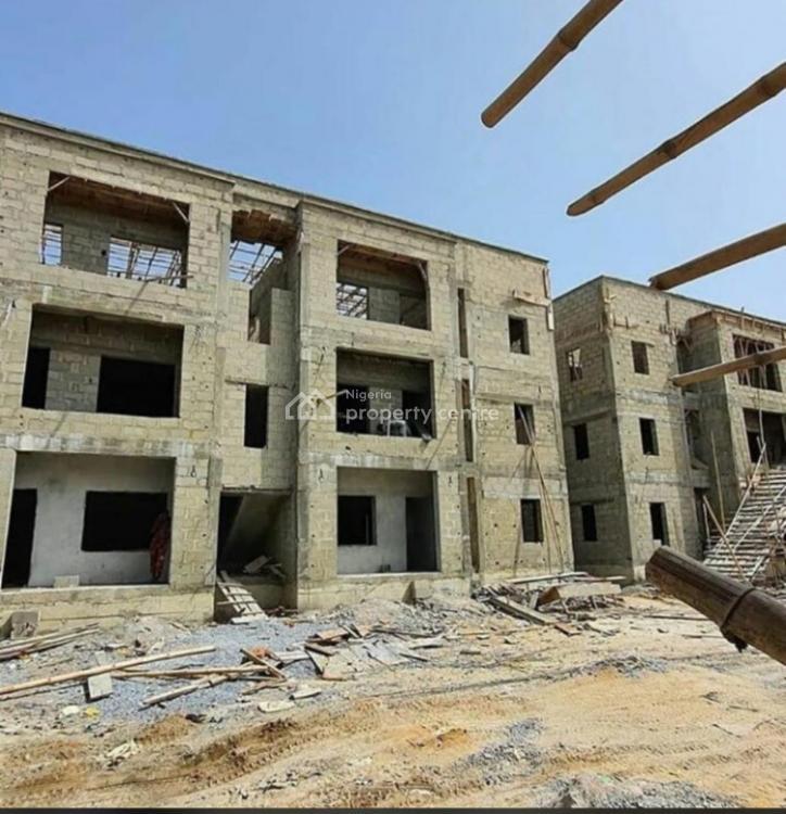 3 Bedrooms Semi Finished Flat, Gracious Goldstone, Sangotedo, Ajah, Lagos, Block of Flats for Sale