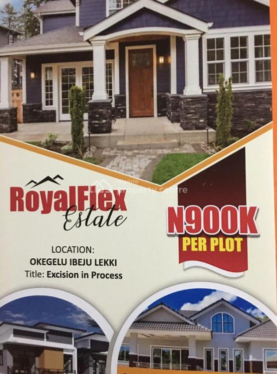 Classic Estate Land in a Serene Location, Lapekun, Ibeju Lekki, Lagos, Commercial Land for Sale