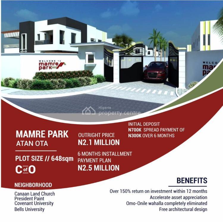 Super Exclusive Fully Formed Dry Land, Atan Ota, Ado-odo/ota, Ogun, Mixed-use Land for Sale