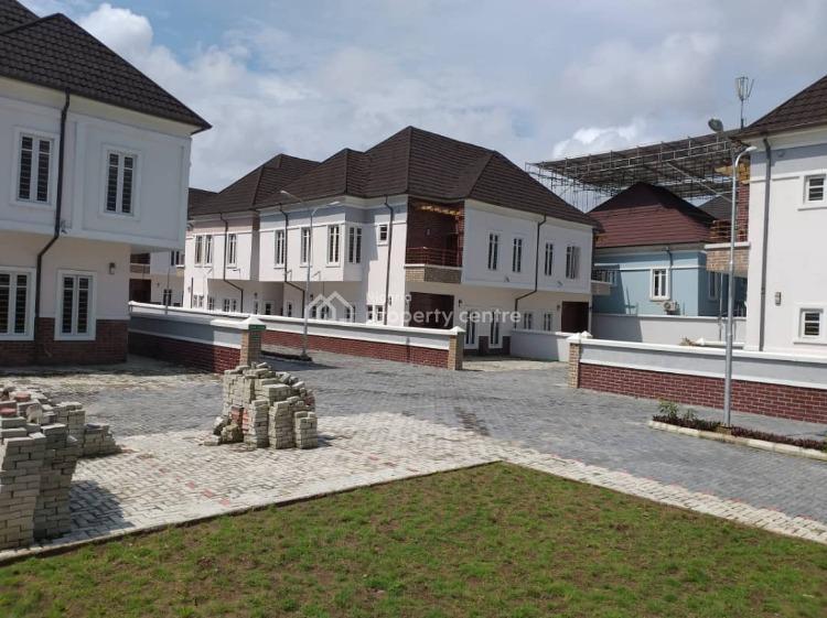4 Bedroom Semi-detached Duplex with Bq, Creak Court Avenue, After Chevron Toll Gate, Ikota, Lekki, Lagos, Semi-detached Duplex for Sale