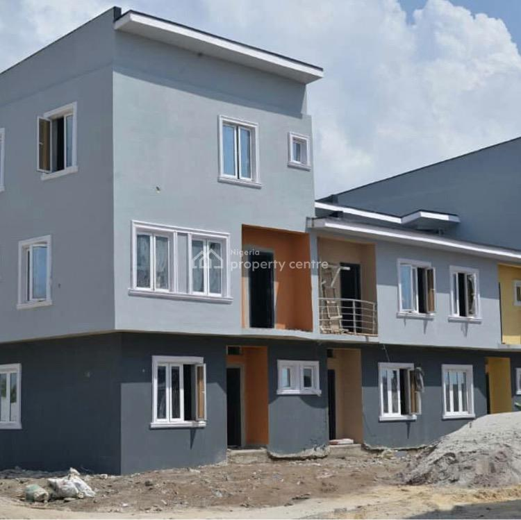Exquisitely Finished 3 Bedroom Terrace Triplex with Bq and C of O, Oribanwa, Ibeju Lekki, Lagos, House for Sale