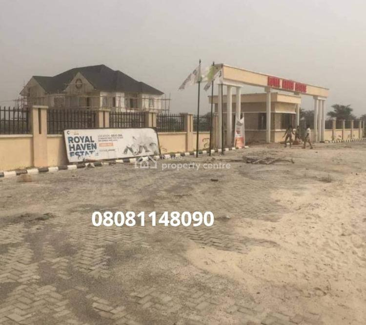 Estates Land, Royal Haven Estate: Abijo Gra, Sangotedo, Ajah, Lagos, Residential Land for Sale