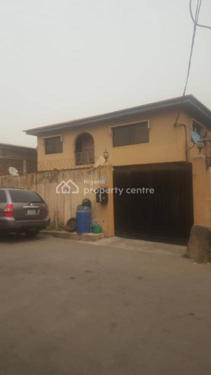 4 Bedrooms Semidetached House with 2 Rooms Bq and 2 Nos 3 Bedroom Flat, Adelabu, Surulere, Lagos, Semi-detached Duplex for Sale