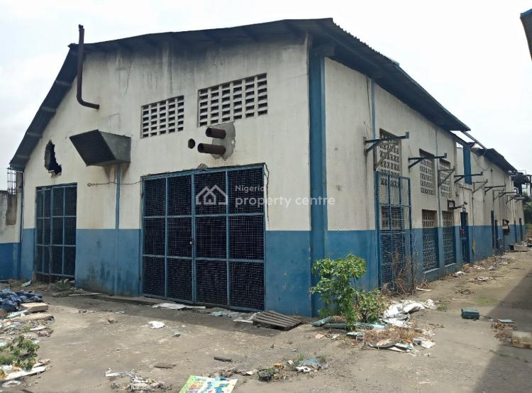 Industrial Property on an Approximate Land Area of 19,234 Square Metre, Isolo, Lagos, Factory for Sale