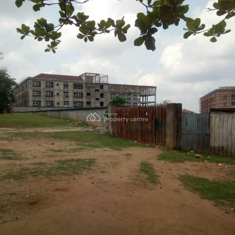 Fenced Commercial Land Measuring 7400sqm with C of O, Ibb Way, Maitama District, Abuja, Commercial Land for Sale