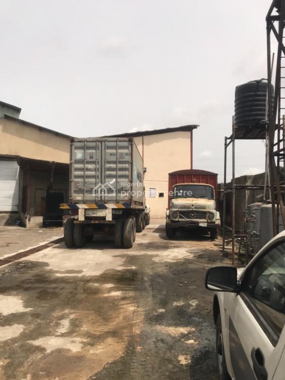 Warehouse on 6350sqm Plot of Land, Ladipo, Mushin, Lagos, Warehouse for Sale