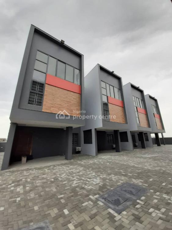 4bedroom Townhouse/terrace with 2 Sitting Rooms, 1room Service Quarters, Ikate Elegushi, Lekki, Lagos, Terraced Duplex for Sale